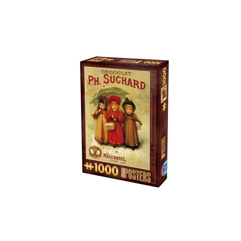 D Toys Vintage posters Chocolats Ph.Suchard 1000pc