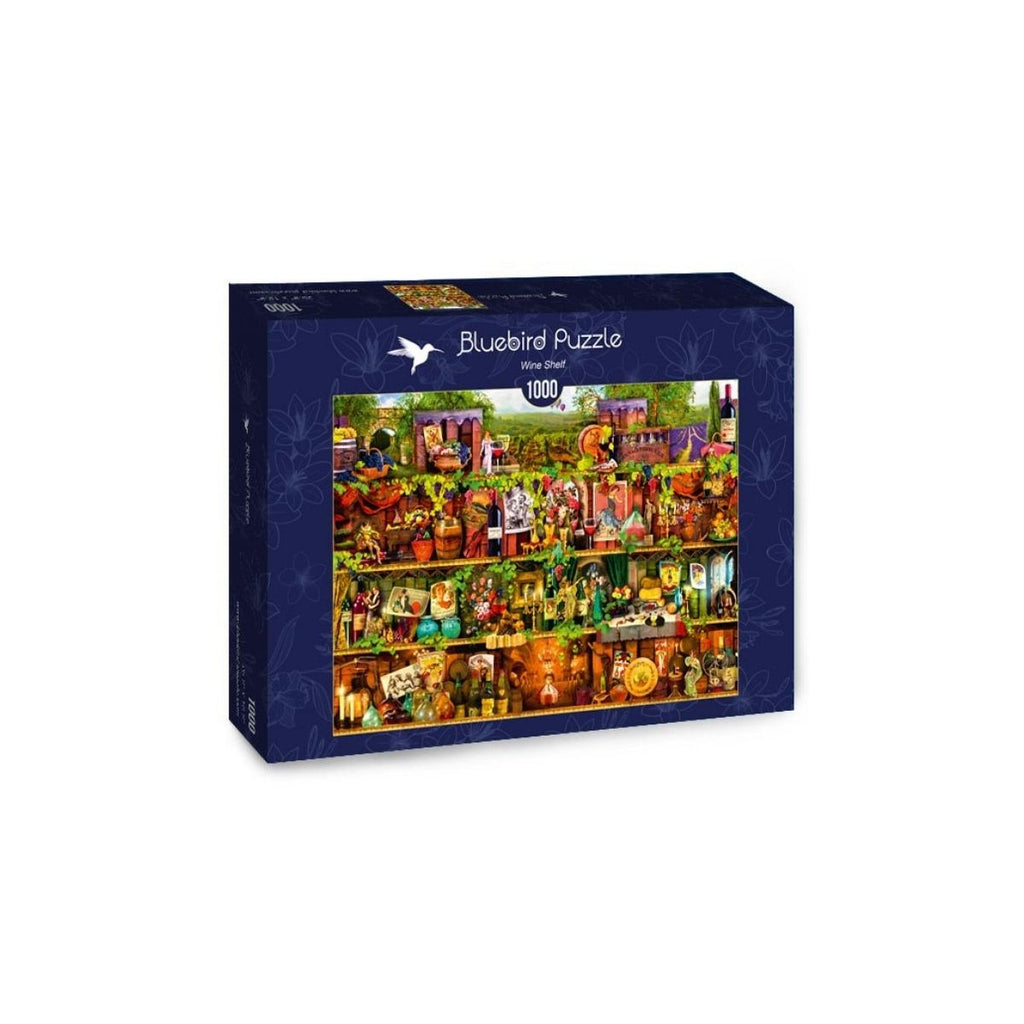 Bluebird Puzzle Wine Shelf 1000pc
