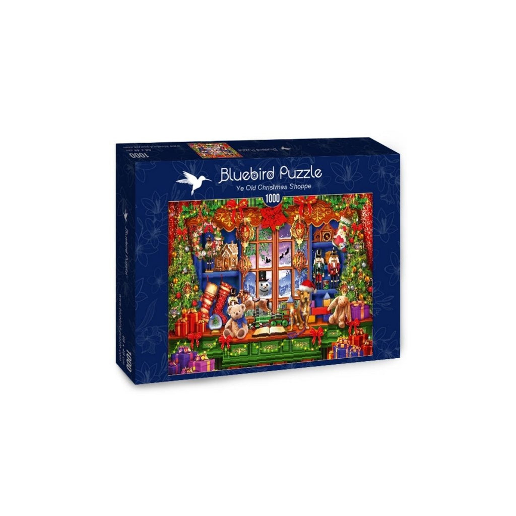 Bluebird Puzzle Ye Old Christmas Shoppe