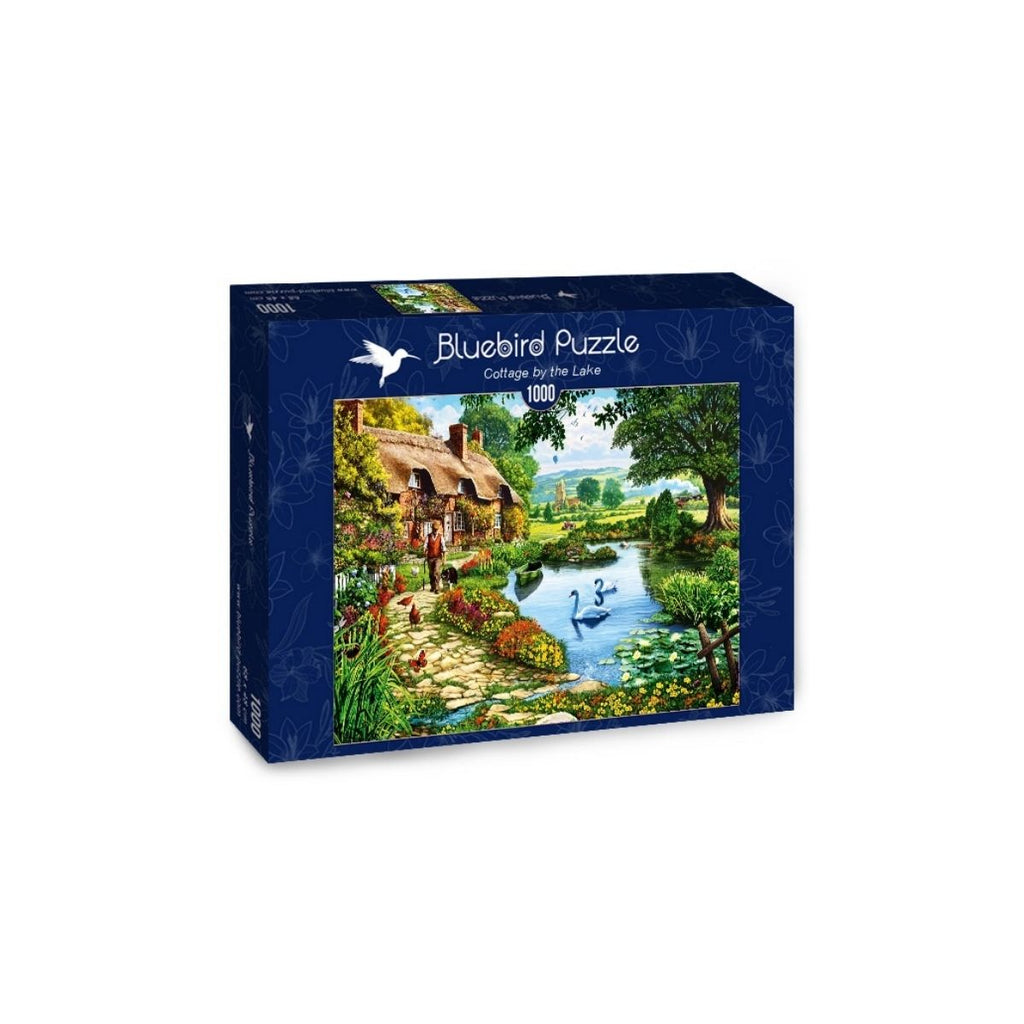 Bluebird Puzzle Cottage by the Lake 1