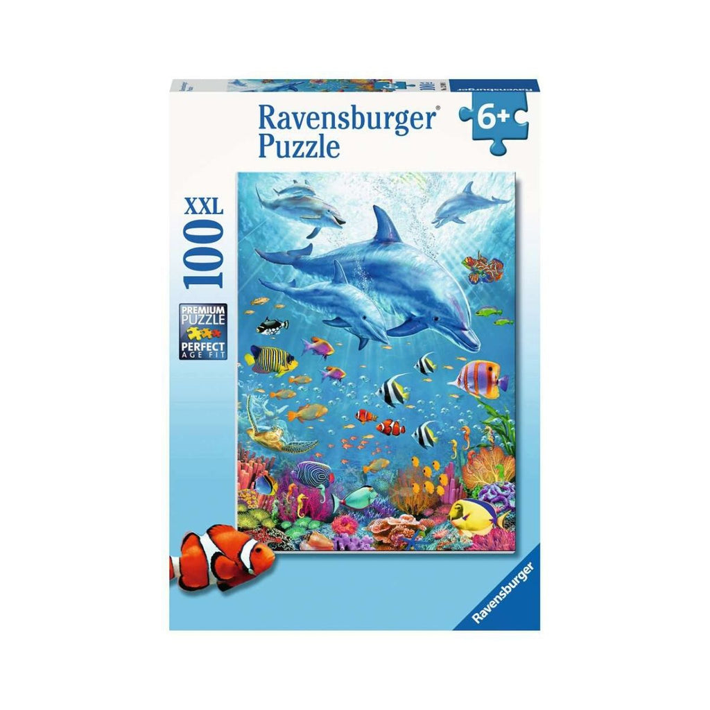 Ravensburger 100pc Pod of Dolphins