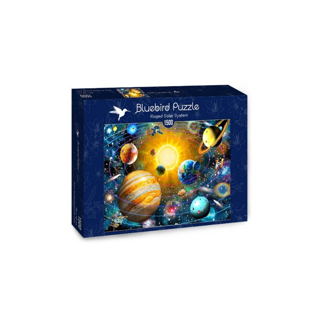 Bluebird Puzzle Ringed Solar System 1500pc