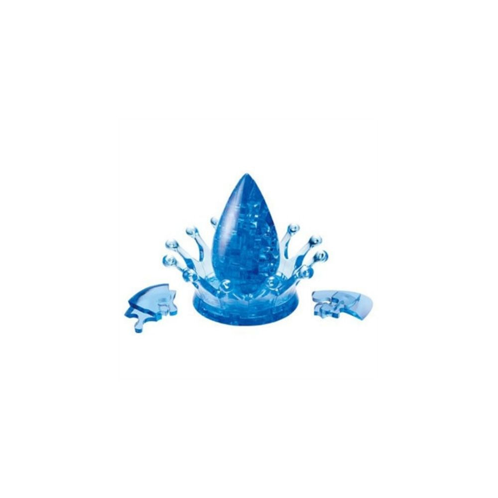 3D Crystal Puzzle - Water Crown 43pc