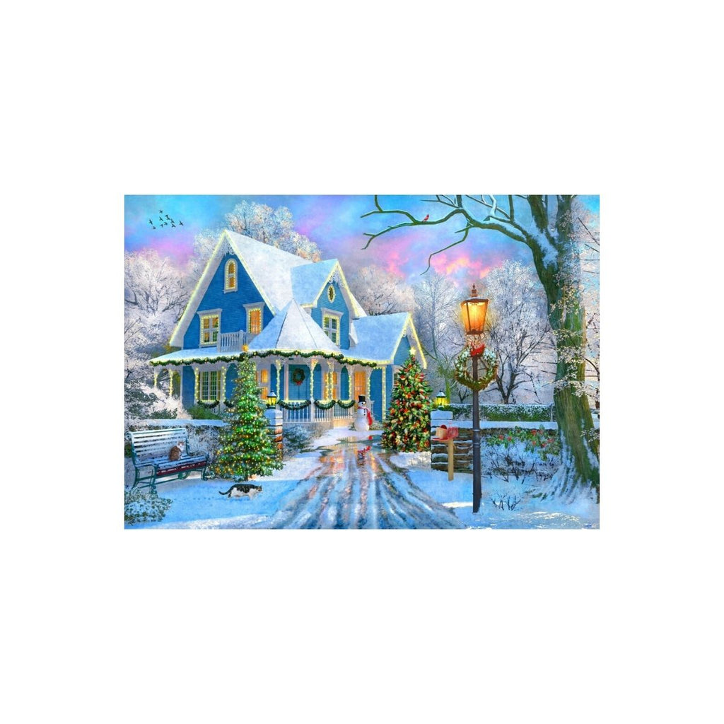 Bluebird Puzzle Christmas at Home 10