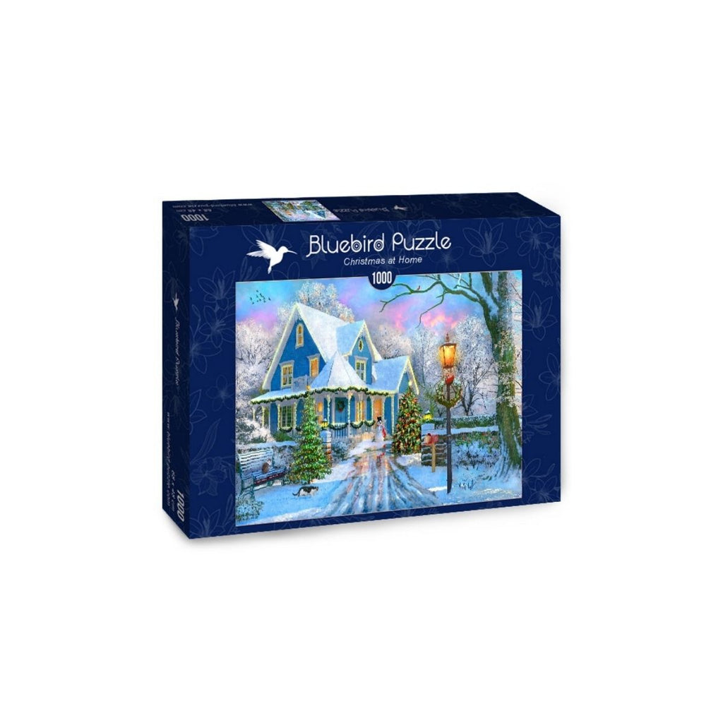 Bluebird Puzzle Christmas at Home 1000pc