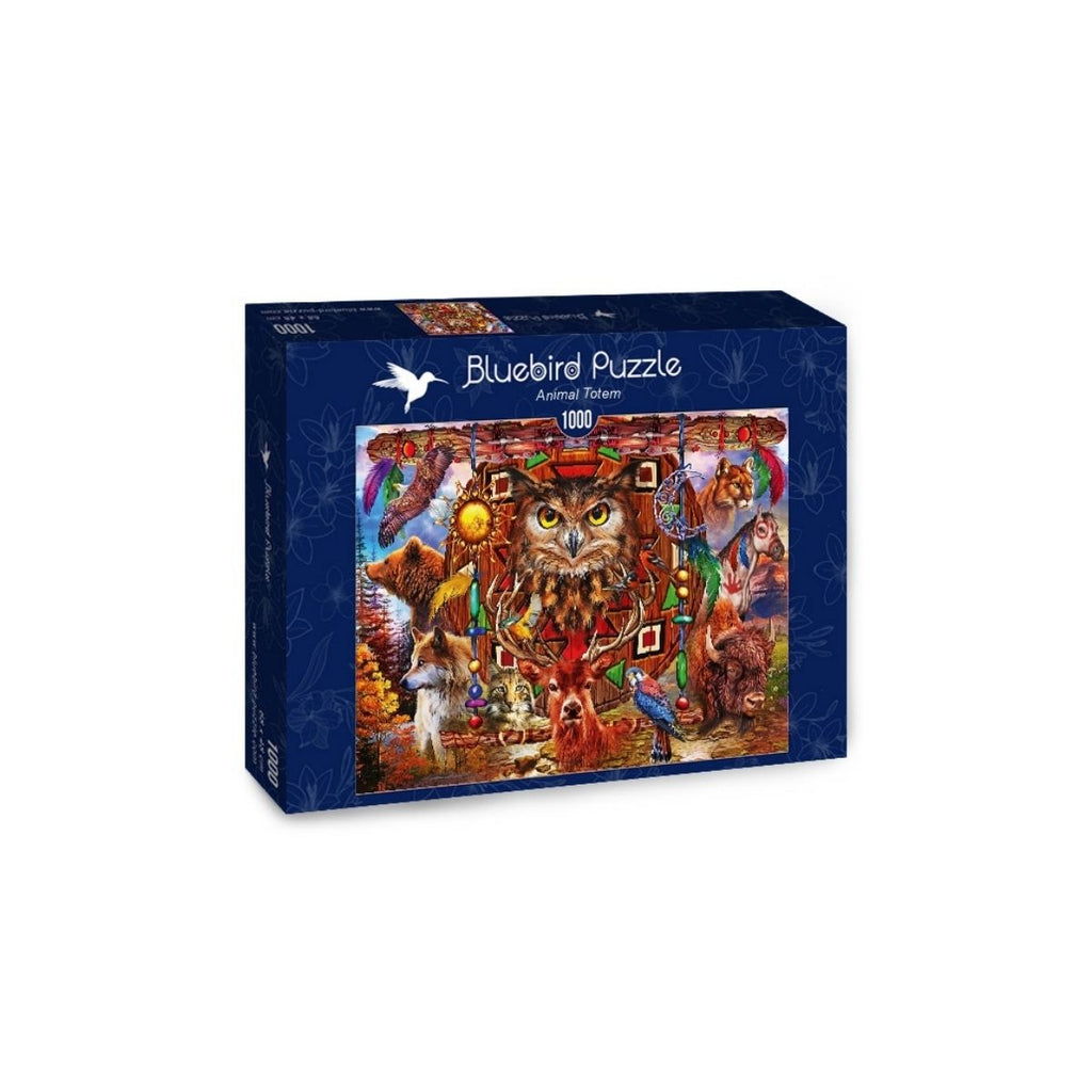 Bluebird Puzzle Animal Totem 1000pc