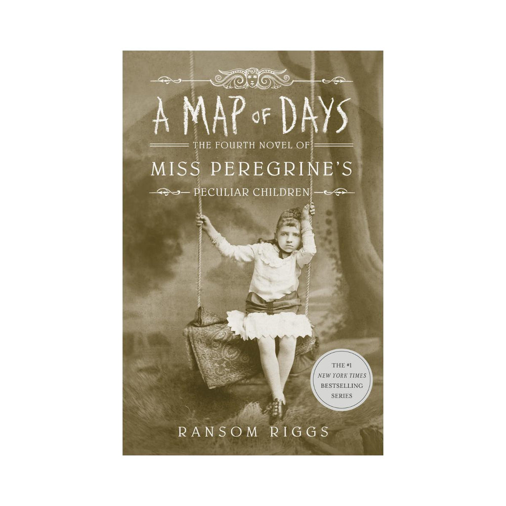 A Map Of Days Miss Peregrines Peculiar Children - Ransom Riggs-Penquin-booksrusandmore