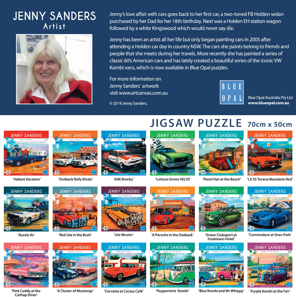 Blue Opal 1000pc Puzzle Jenny Sanders Aussie Classics A9X Brocky-Modern Brands-booksrusandmore