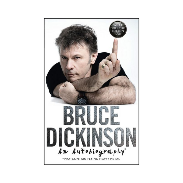 Bruce Dickinson An Autobigraphy-Harper Collins-booksrusandmore