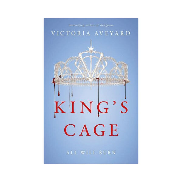 Kings Cage by Victoria Aveyard Bk 3