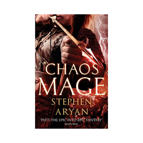 Chaos Mage by Stephen Aryan Bk 3