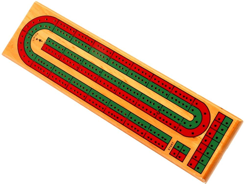 Cribbage Board 2 Track Colour-Jedko-booksrusandmore