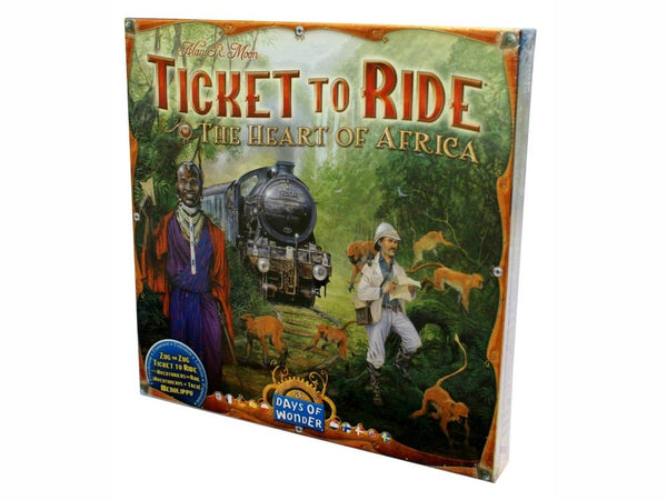 Ticket To Ride - The Heart Of Africa-Jedko-booksrusandmore