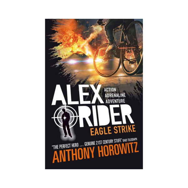 Alex Rider Eagle Strike Bk 4-Walker Books-booksrusandmore