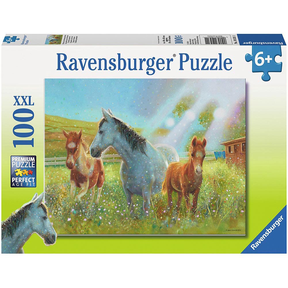 Ravensburger 100pc Puzzle Equine Pasture-Modern Brands-booksrusandmore