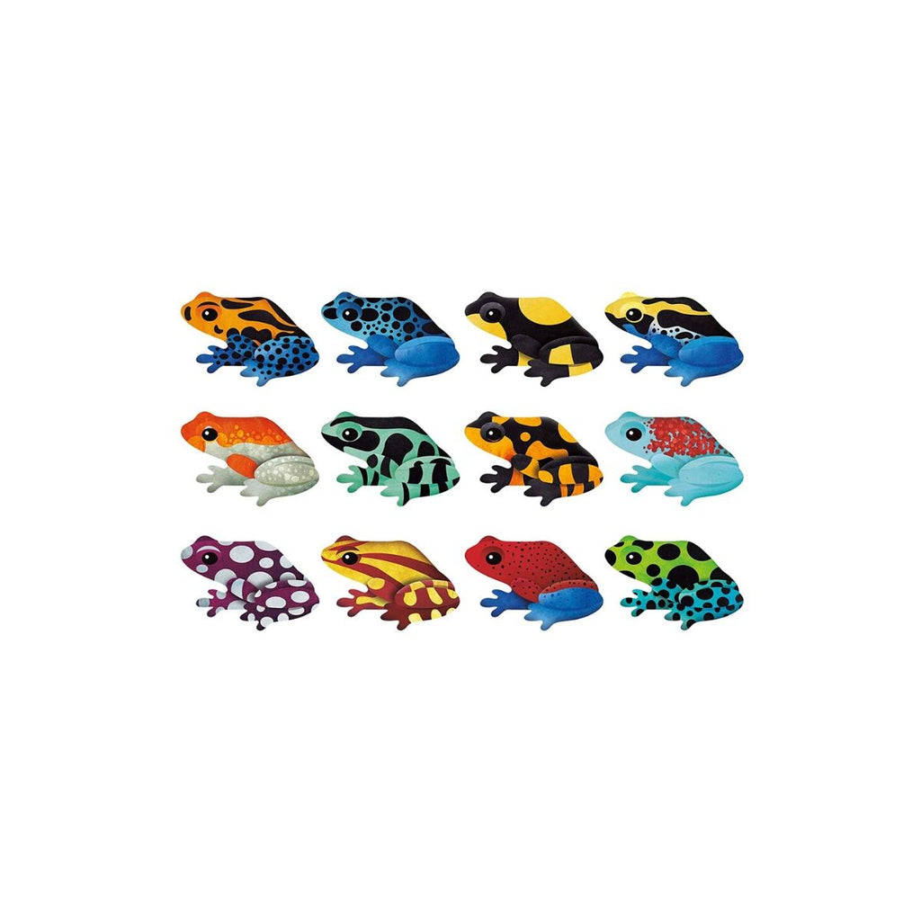 Mudpuppy Shaped Memory Match Frogs