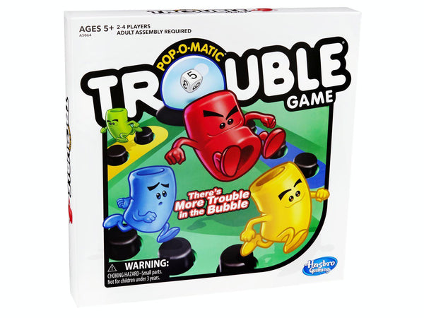 Pop-O-Matic Trouble Game-Jedko-booksrusandmore
