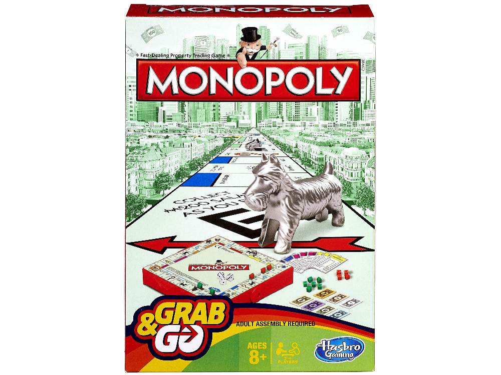 Grab And Go - Monopoly-Jedko-booksrusandmore