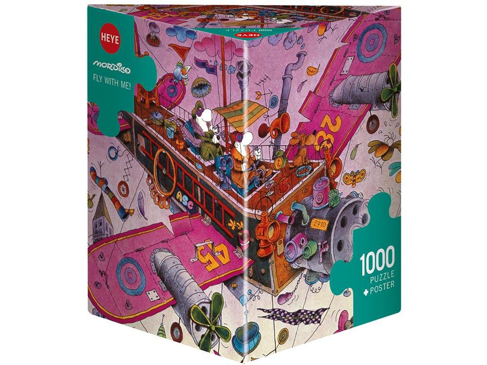 Heye 1000pc Puzzle - Fly With Me-Jedko-booksrusandmore