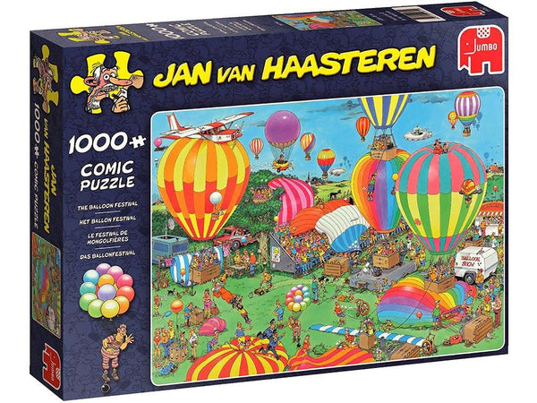 JVH 1000pc Puzzle Funny World The Balloon Festival-Jedko-booksrusandmore