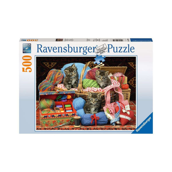 Ravensburger 500pc Puzzle Knitters Delight