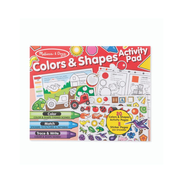 Melissa and Doug Colors and Shapes Activity Pad