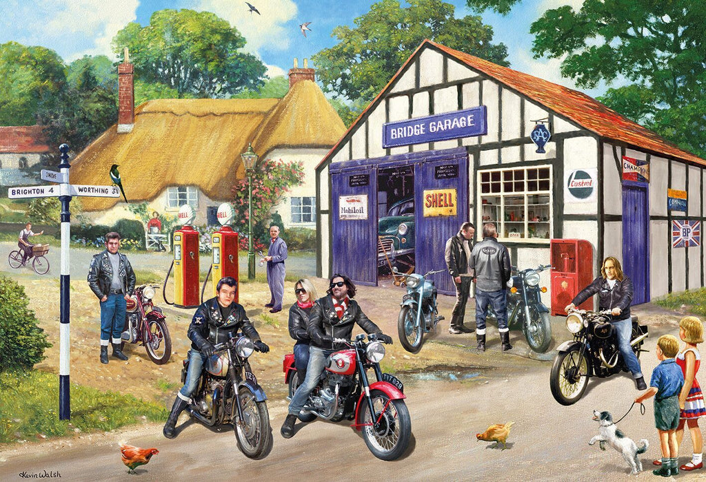 Gibsons 2 x 500pc Puzzles Mods and Rockers-Gibsons-booksrusandmore