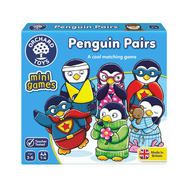 Orchard Toys mini games Penquin Pairs-Modern Brands-booksrusandmore