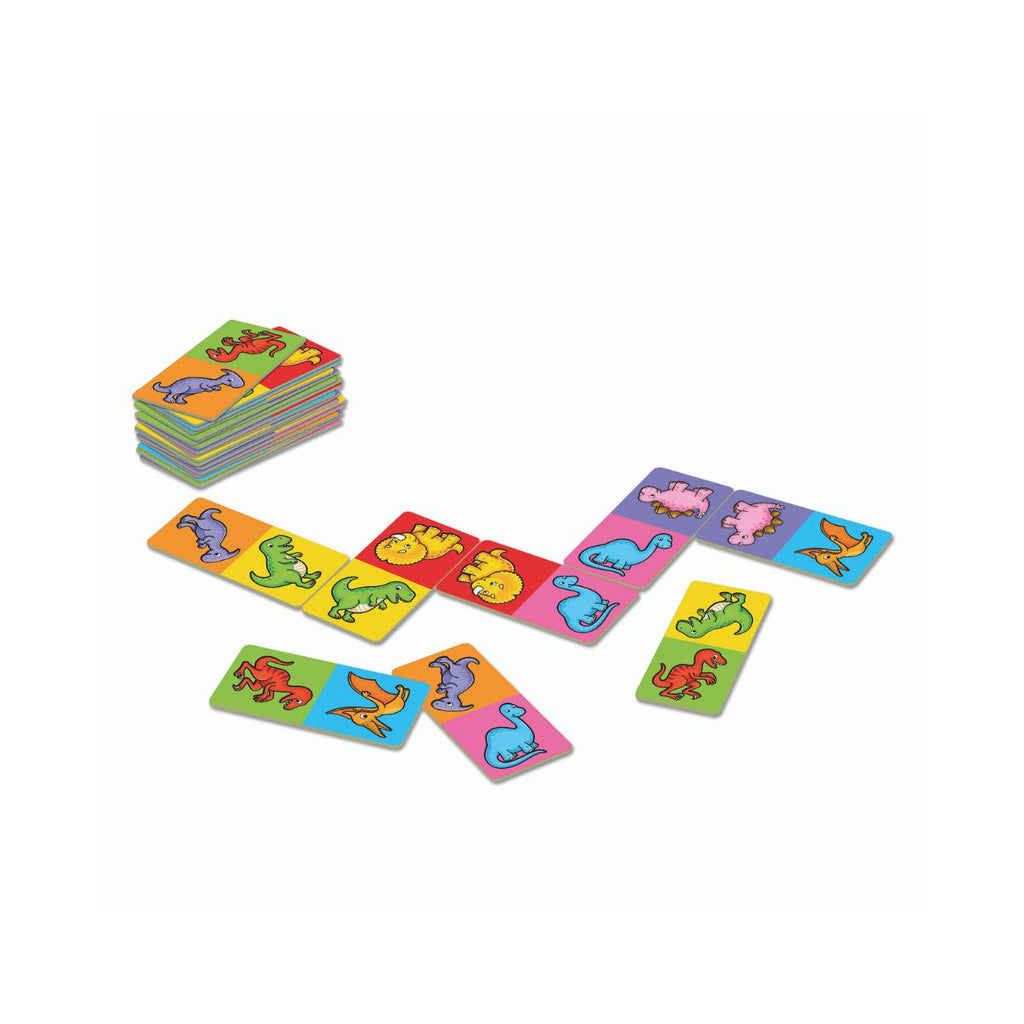 Orchard Toys mini games Dinosaur Dominoes-Modern Brands-booksrusandmore