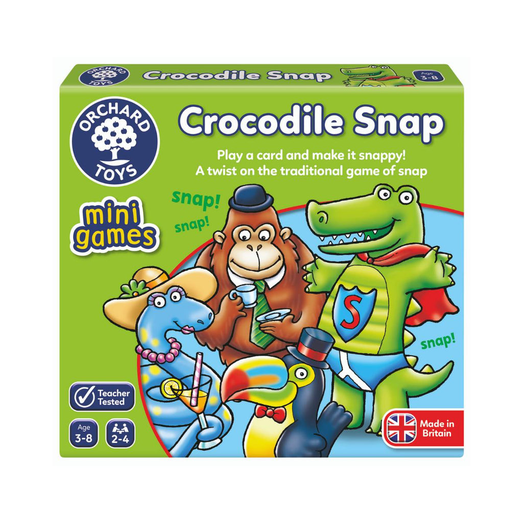 Orchard Toys mini games Crocodile Snap-Modern Brands-booksrusandmore