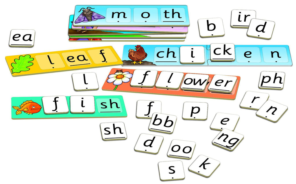 Orchard Toys Match And Spell Next Steps-Modern Brands-booksrusandmore
