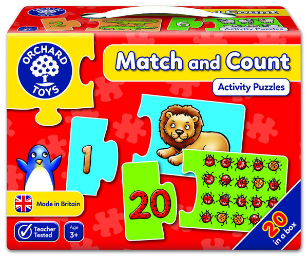Orchard Toys Match and Count Activity Puzzles-Modern Brands-booksrusandmore