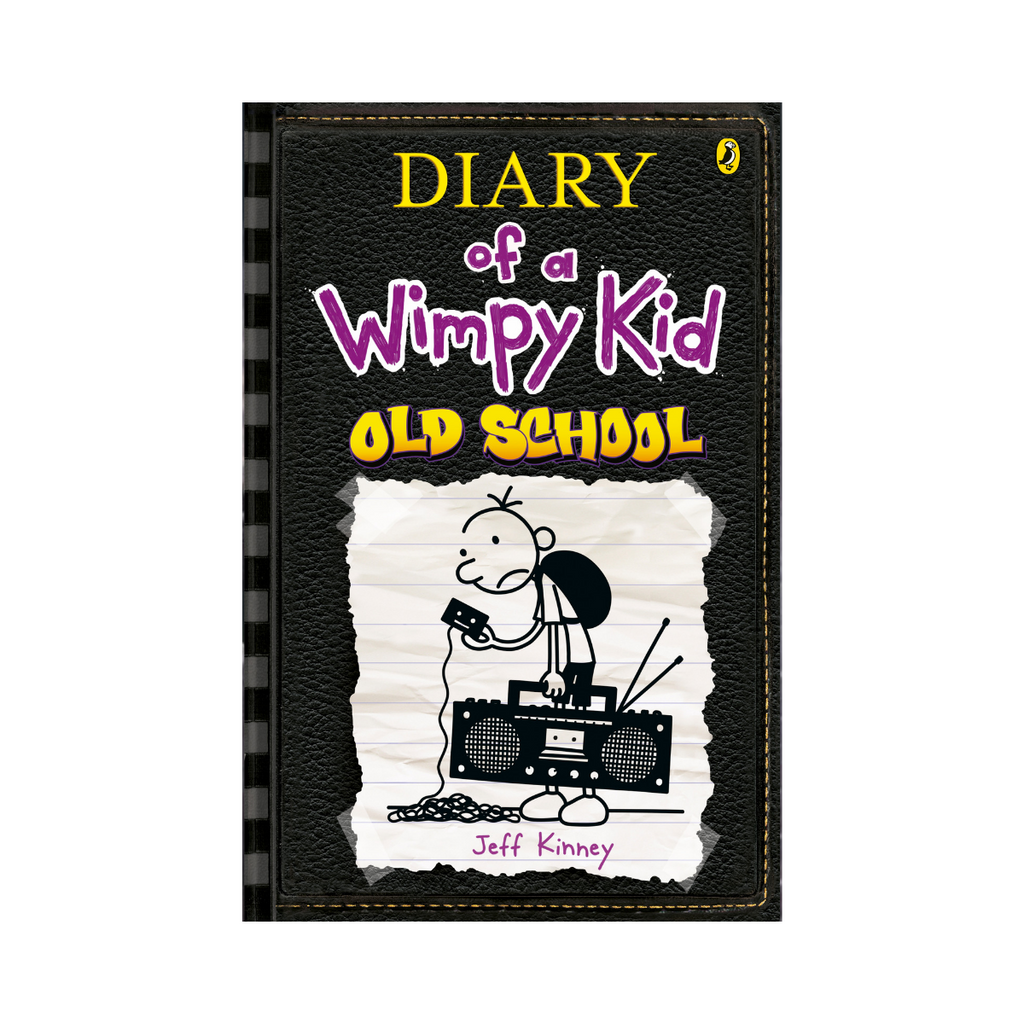 Diary Of A Wimpy Kid Old School Bk10 by Jeff Kinney-Penquin-booksrusandmore