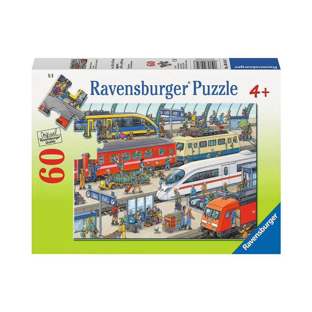 Ravensburger 60pc Puzzle Railway Station-Modern Brands-booksrusandmore