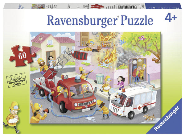 Ravensburger 60pc Puzzle Firefighter Rescue-Modern Brands-booksrusandmore