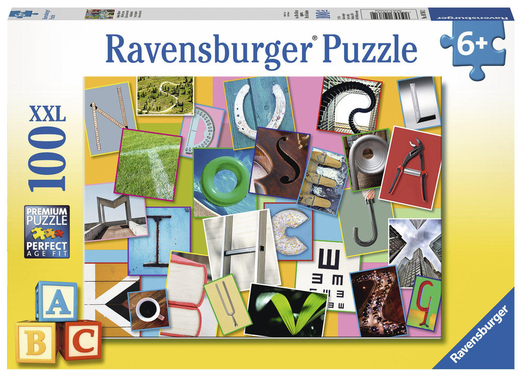 Ravensburger 100pc Puzzle Funny Alphabet-Modern Brands-booksrusandmore