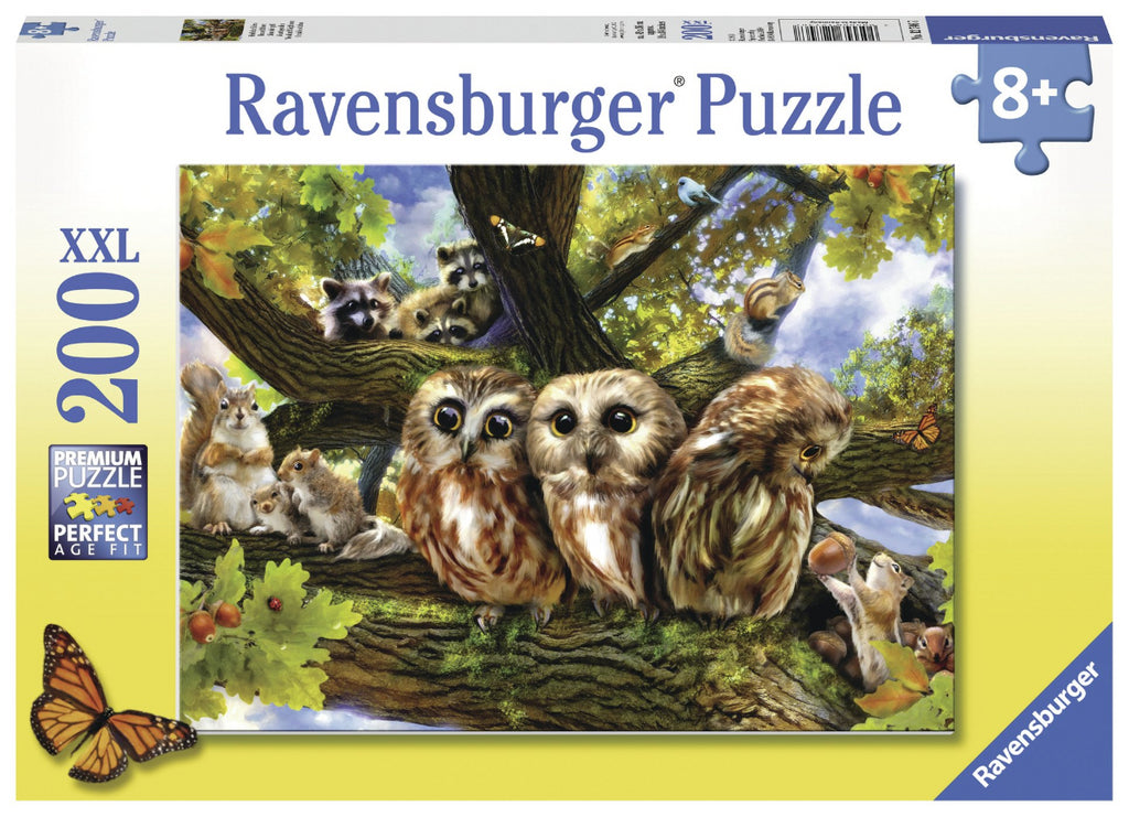 Ravensburger 200pc Puzzle Woodland Neighbours-Ravensburger-booksrusandmore
