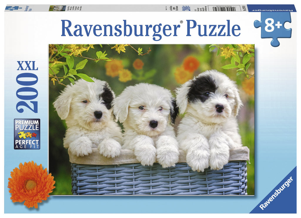 Ravensburger 200pc Puzzle Cuddly Puppies-Modern Brands-booksrusandmore