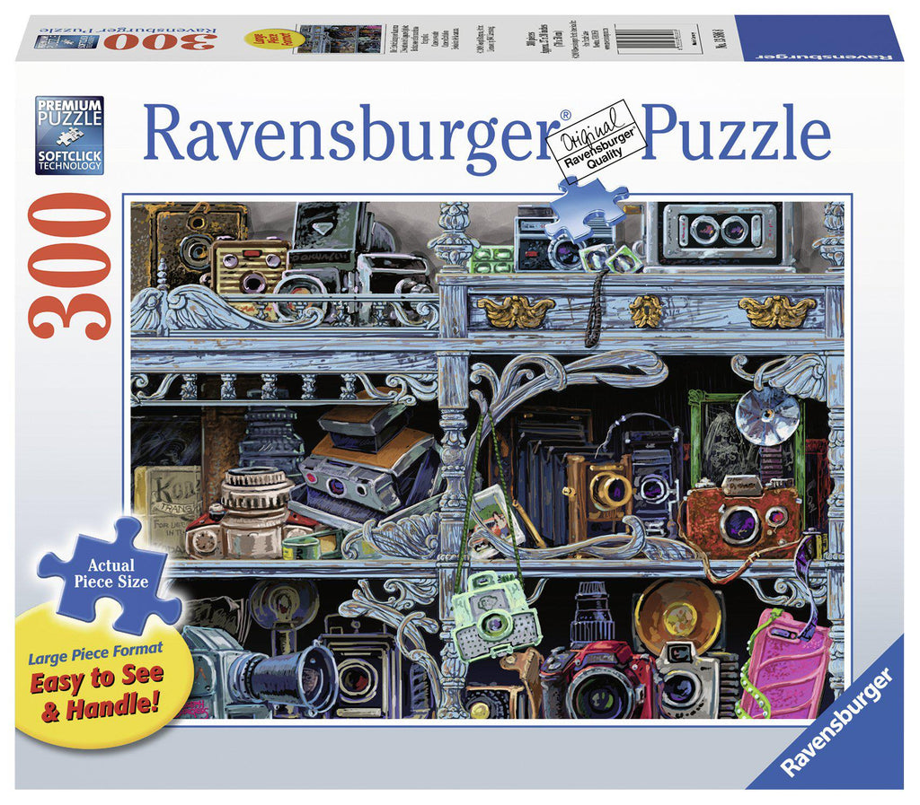 Ravensburger 300 pc Large Format Puzzle Camera Evolution-Modern Brands-booksrusandmore