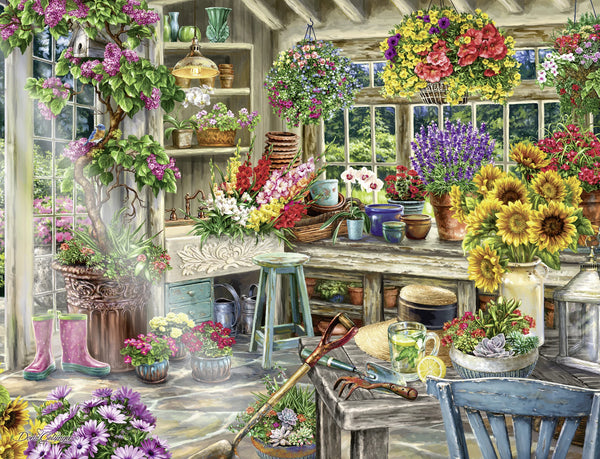 Ravensburger 2000pc Puzzle Gardeners Paradise-Modern Brands-booksrusandmore