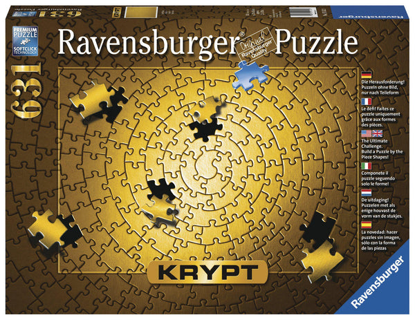 Ravensburger 631pc Puzzle Kyrpt Gold-Modern Brands-booksrusandmore