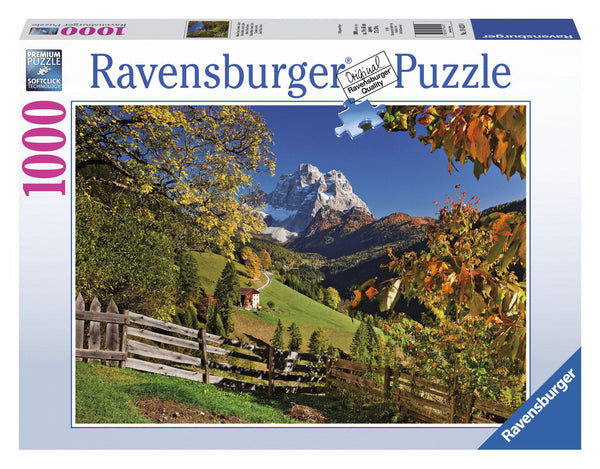 Ravensburger 1000pc Puzzle Mountainous Italy-Modern Brands-booksrusandmore