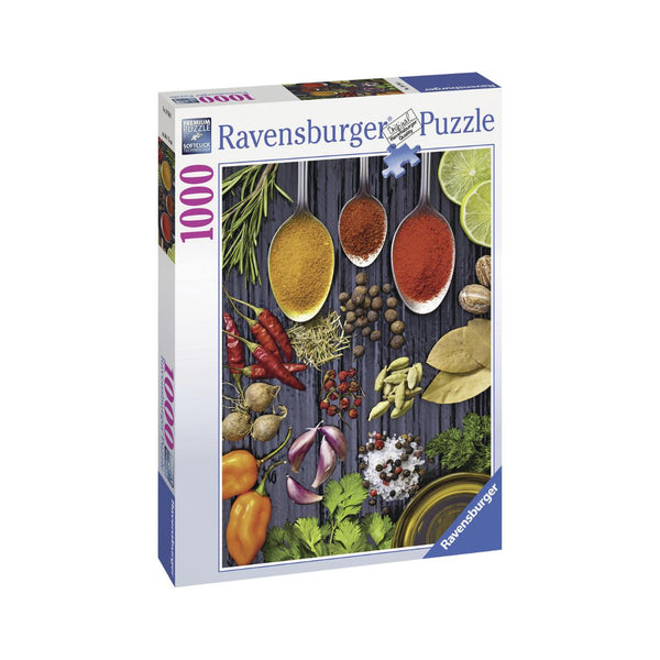Ravensburger 1000 pc Puzzle Herbs And Spices-Modern Brands-booksrusandmore