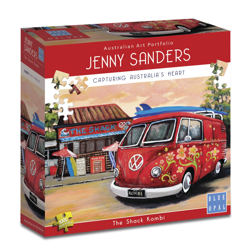 Blue Opal 1000pc Puzzle Jenny Sanders The Shack Kombi-Blue Opal-booksrusandmore