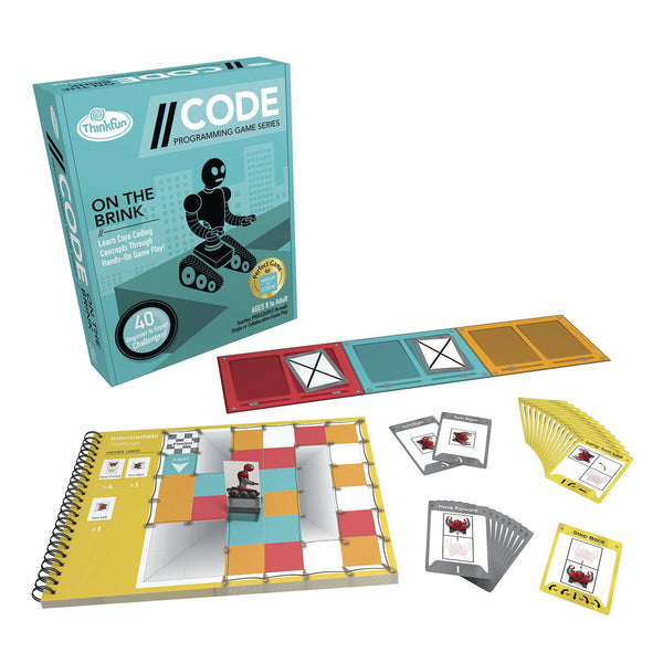 Thinkfun Code Programming Game Series On The Brink-Modern Brands-booksrusandmore