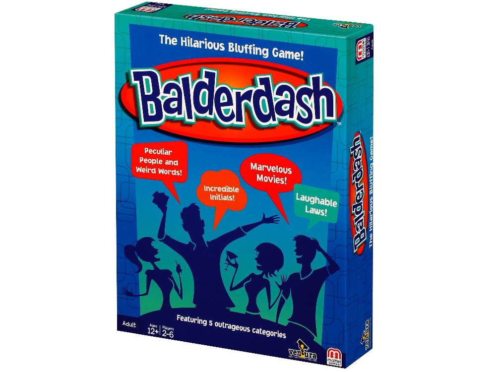 Mattel Games Balderdash-Jedko-booksrusandmore