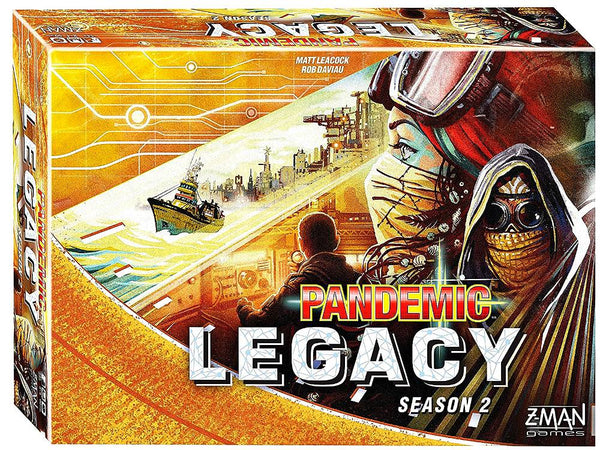 Pandemic Legacy Season 2 Yellow Edition-Jedko-booksrusandmore