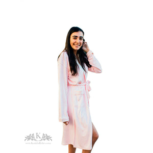 Womens Long Bath Robe