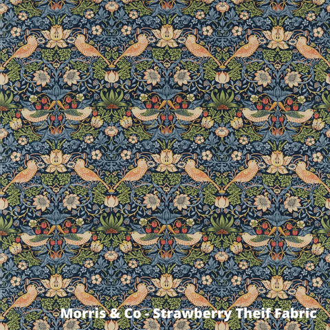 Strawberry Theif Fabric
