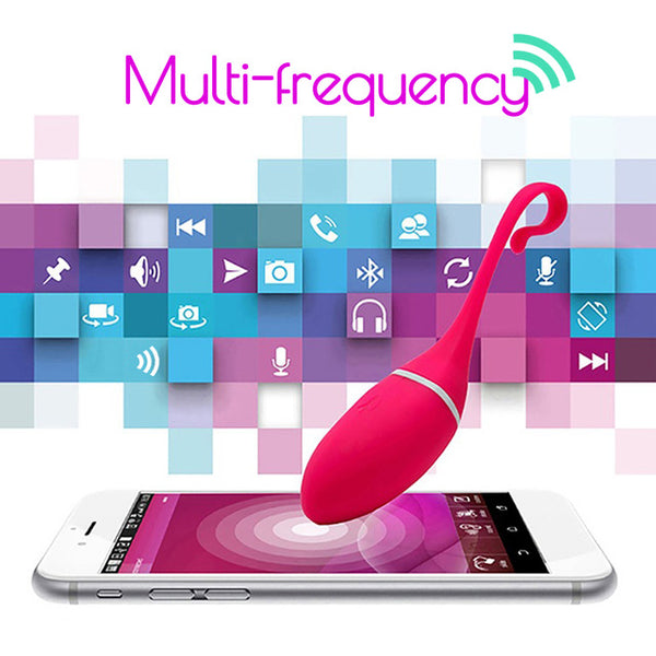 REALOV® Remote Control Vibrator iPhone Android Smartphone APP G-Spot Massager Sex Toys
